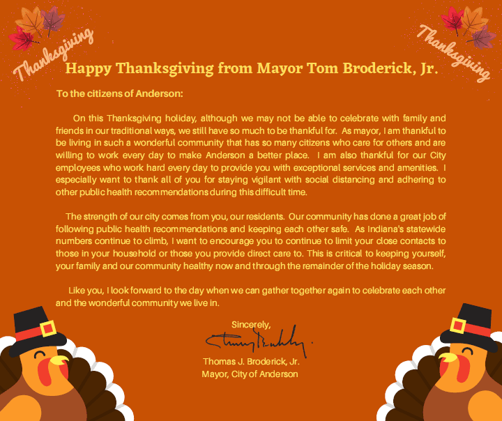 amended thanksgiving